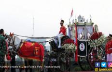 Kereta Kencana Ki Jaga Raksa Pengantar Bendera Pusaka, Kebanggaan Masyarakat Purwakarta - JPNN.com