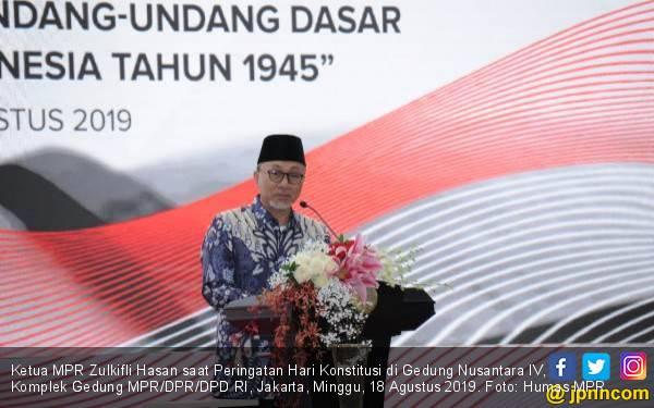 Konstitusi Perlu Ditanamkan ke Setiap Jiwa Warga Negara Indonesia - JPNN.com
