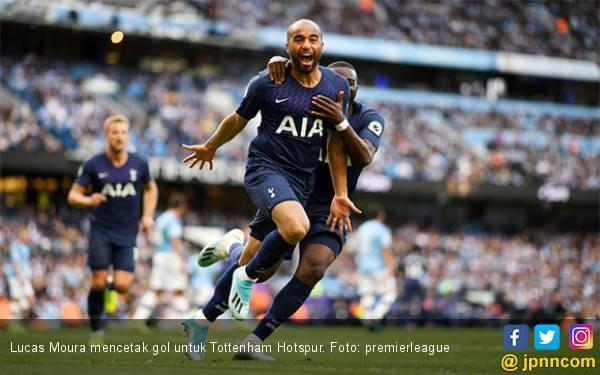 19 Detik, Gol Lucas Moura Masuk Buku Rekor Premier League - JPNN.com