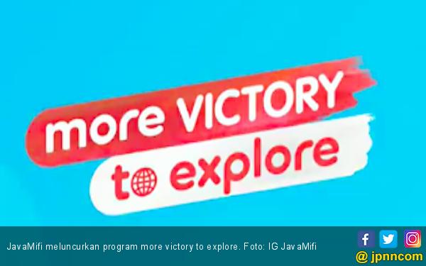 Rayakan HUT ke-74 RI, JavaMifi Luncurkan Program More Victory to Explore - JPNN.com