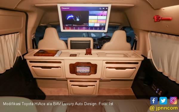Inspirasi Modifikasi Toyota HiAce ala BAV Luxury Auto Design - JPNN.com
