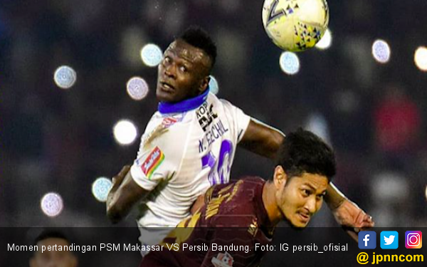 Persib Bandung Kalah Lagi, PSM Makassar Sukses Jaga Rekor Kandang - JPNN.com