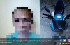 Kerap Meresahkan Masyarakat, MR Tak Berdaya di Hadapan Polisi - JPNN.com
