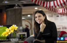 Cerita Andrea Turk Nyanyi 'Tanah Airku' di Istana Merdeka - JPNN.com