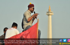 Massa di Depan Istana Merdeka Minta Jokowi Terbitkan Perppu Antirasisme - JPNN.com