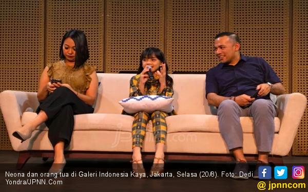 Neona Bikin Konser Tunggal di Usia 10 Tahun - JPNN.com