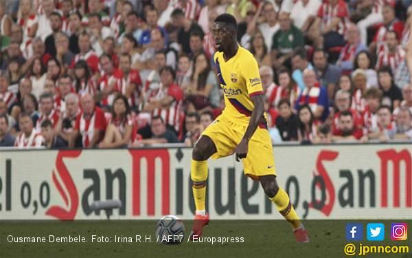 Setelah Messi dan Suarez, Giliran Ousmane Dembele yang Menderita - JPNN.com
