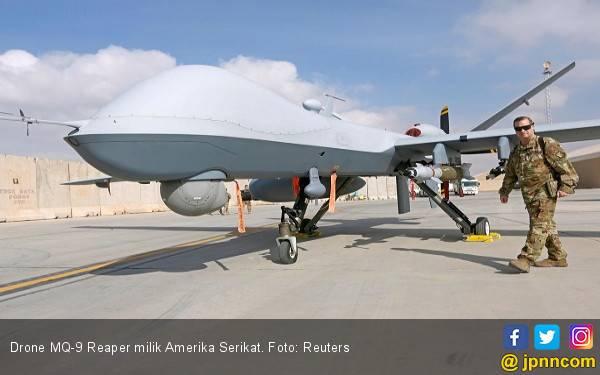Iran Kembali Tembak Jatuh Drone Asing dengan Rudal Buatan Dalam Negeri - JPNN.com