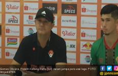 Gomes Ungkap Penyebab Kekalahan Telak Kalteng Putra dari Persija Jakarta - JPNN.com