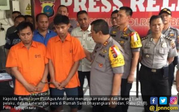 Empat Pelaku Begal Sadis Ditangkap, Dua Orang Ditembak Mati - JPNN.com