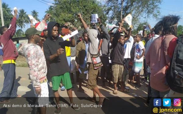 45 Demonstran di Timika Diamankan, 3 Polisi Terluka - JPNN.com