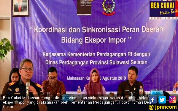 Bea Cukai Makassar Membantu Provinsi Sulbagsel Percepat Ekspor - JPNN.com