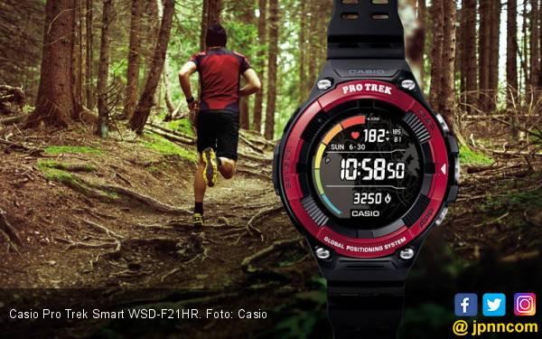 Casio Pro Trek Smart WSD-F21HR Bisa Pantau Detak Jantung - JPNN.com
