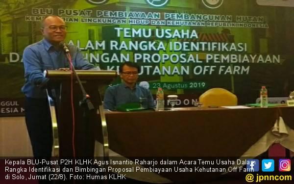 KLHK Dorong Usaha Kehutanan Off Farm Manfaatkan Fasilitas Dana Bergulir - JPNN.com