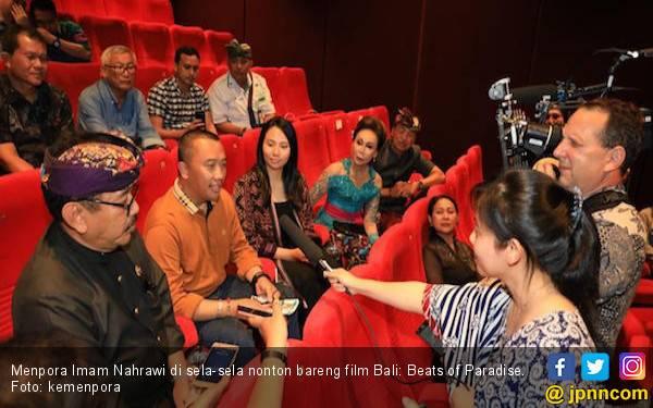 Usai Nonton Bareng Film Bali: Beats of Paradise, Menpora: Wow Keren - JPNN.com