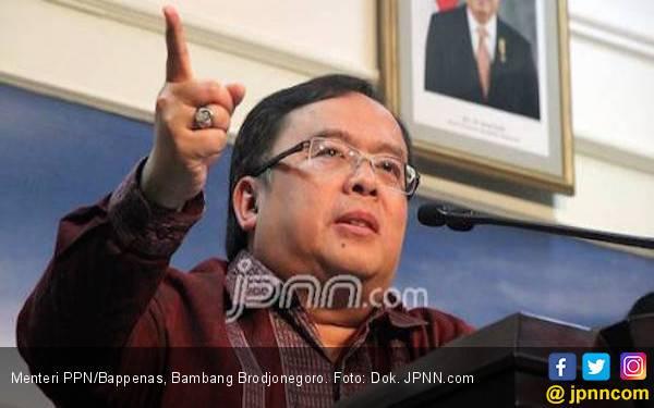 Terkait Pemindahan Ibu Kota, Menteri PPN Serahkan Dua Dokumen ke Jokowi - JPNN.com