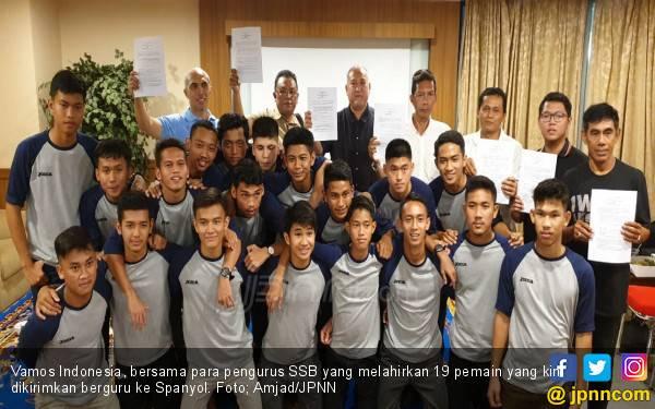 Tim Sepak Bola Vamos Indonesia Bakal Jajal Kekuatan Klub-klub Besar Eropa - JPNN.com