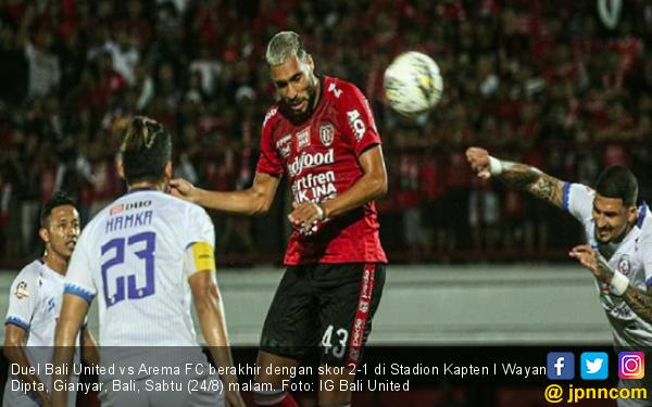 Bali United Petik 7 Kemenangan Beruntun Usai Bungkam Arema FC - JPNN.com