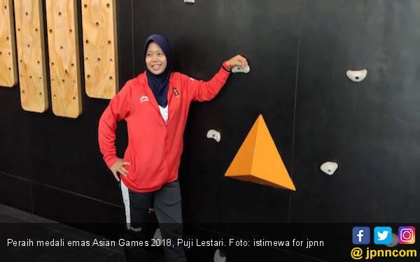 Peraih Medali Emas Asian Games 2018 Ingin Populerkan Panjat Dinding - JPNN.com