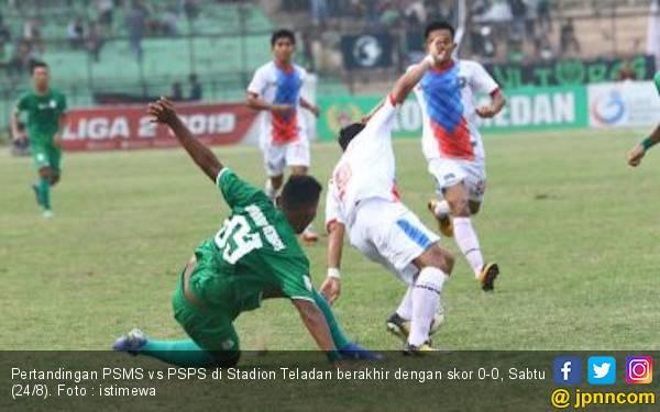 PSMS Medan Harus Rela Berbagi Poin dengan PSPS Riau - JPNN.com