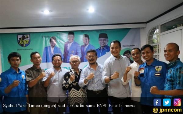 Pesan SYL saat Diskusi Bersama KNPI - JPNN.com