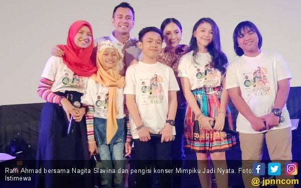 Raffi Ahmad Prihatin Minimnya Lagu Anak-anak - JPNN.com
