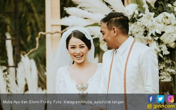 Mutia Ayu Akhirnya Pamer Momen Pernikahan dengan Glenn Fredly - JPNN.com