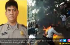 Ipda Erwin, Korban Pembakaran di Cianjur Meninggal Dunia - JPNN.com