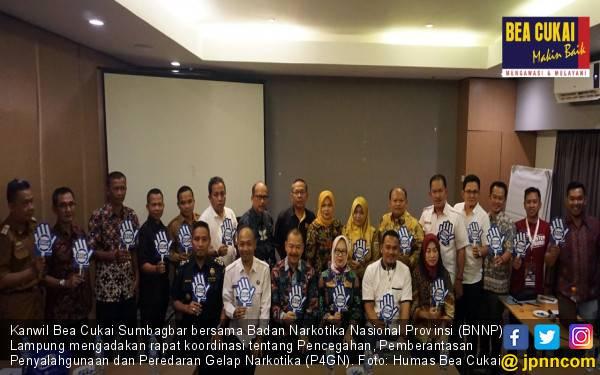 Mengintip Sinergi Bea Cukai Sumbagbar dan BNNP Lampung Berantas Narkotika - JPNN.com