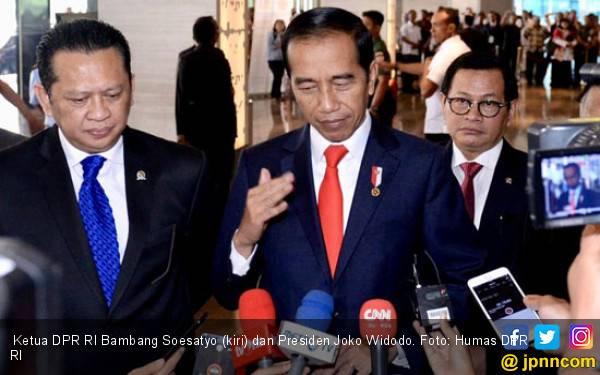 Bamsoet Dapat 2 Surat Penting dari Jokowi, Hmm Apa Isinya? - JPNN.com