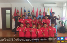 Lepas Tim U-10 BLISPI KONI Allstar, Marciano Norman Beri Pesan Penting - JPNN.com