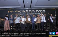 66 Tahun Berkarya, PT PP Raih Predikat Industry Leader - JPNN.com
