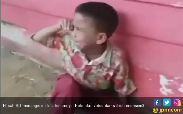 Adil, Bocah SD yang Digebuk, Ditendang, Disiksa Temannya, Anda Pasti Sakit Melihatnya - JPNN.com