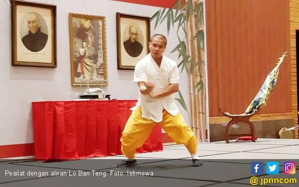 Perguruan Kungfu Lo Ban Teng Incar Bibit Kaum Milenial - JPNN.com