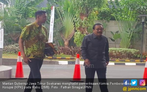 Penuhi Panggilan KPK, Pakde Karwo: Enggak Ada Persiapan - JPNN.com