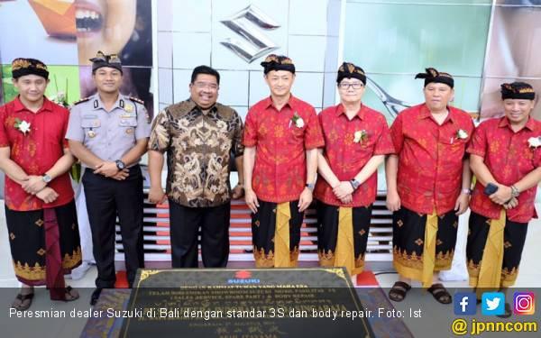 Suzuki Sempurnakan Layanan Dealer di Bali Berstandar 3S dan Body Repair - JPNN.com