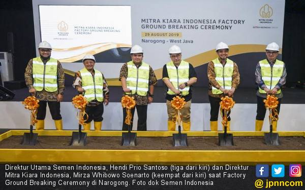 Semen Indonesia Bangun Pabrik Mortar Kapasitas 375 Ribu Ton - JPNN.com