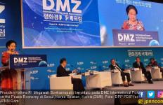 Tetes Air Mata Bu Mega demi Satukan 2 Korea - JPNN.com