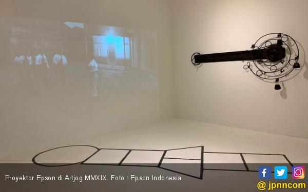 Proyektor Epson Menambah Nilai Seni pada Artjog MMXIX - JPNN.com