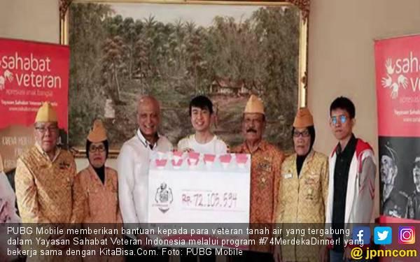 Cara Mulia PUBG Mobile Apresiasi Veteran Indonesia - JPNN.com