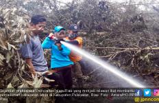 Mahasiswa UIR Bantu Pemadaman Karhutla di Pelalawan - JPNN.com
