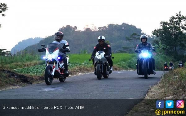 3 Konsep Modifikasi Honda PCX, Awas Pangling! - JPNN.com