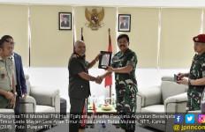 Komentar Panglima TNI Usai Bertemu Pangab Timor Leste di Pos Lintas Batas Motaain NTT - JPNN.com