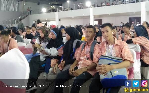 Jawa Timur Jawara Umum O2SN 2019, Jabar Peringkat Tiga - JPNN.com