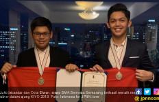 Pengawet Makanan Karya Siswa SMA Semesta Semarang Raih Medali di KIYO - JPNN.com