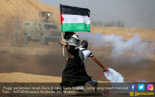 Tentara Israel Mengganas Tembak Warga Palestina dengan Peluru Aktif - JPNN.com