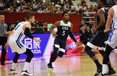 Sempat Tegang, AS Kalahkan Ceko di Penyisihan Grup E Piala Dunia FIBA 2019 - JPNN.com