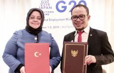 Indonesia - Turki Menandatangani MoU Kerja Sama Bidang Ketenagakerjaan - JPNN.com