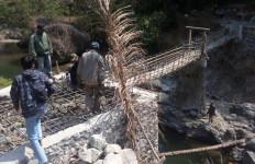 Tahun Ini Pemprov Jabar Akan Bangun 23 Jembatan Gantung Desa - JPNN.com