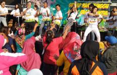 Car Free Day Sidoarjo Heboh dengan Flashmob Road to Haornas 2019 - JPNN.com